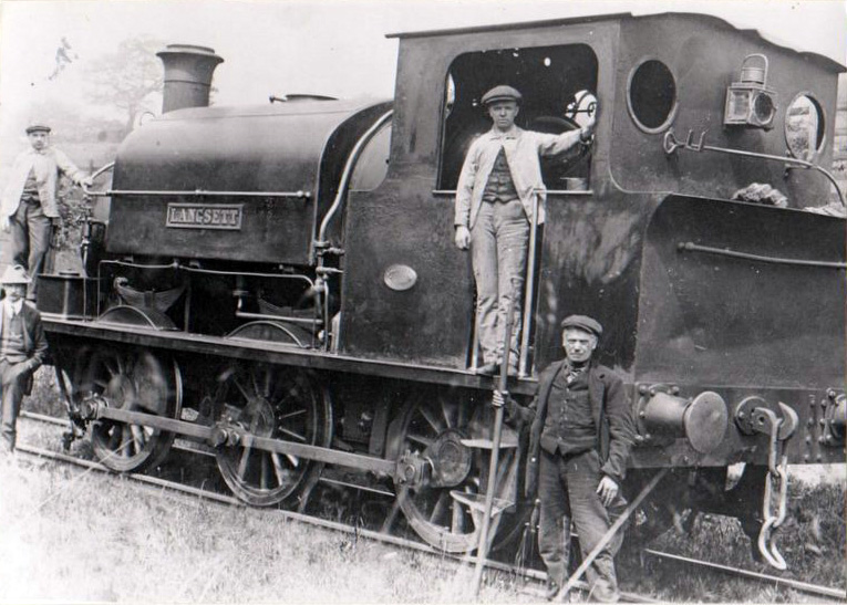 "Locomotive ""Langsett"""