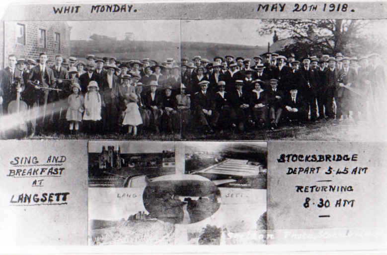 Whit Monday Gathering 1918