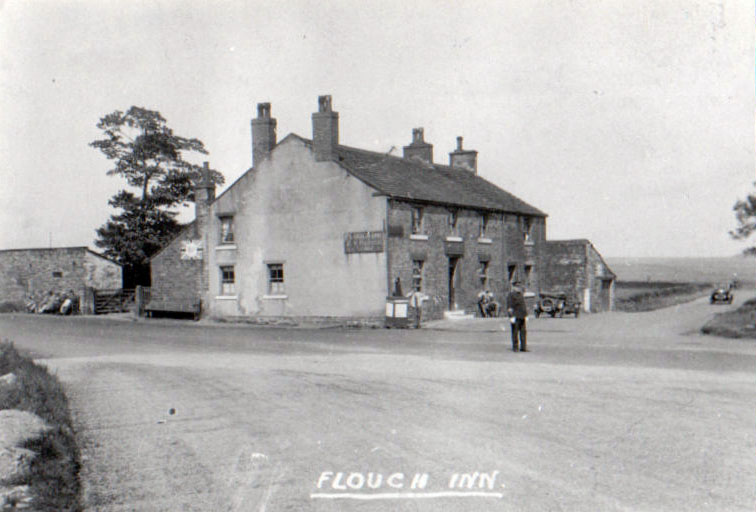 Flouch Inn with Policeman 1920s