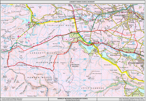 Langsett Boundary Map
